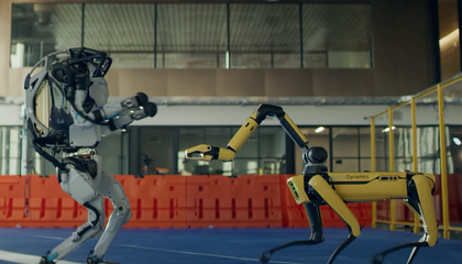 Dancing Boston Dynamics Robots Show Off Their Sweet Moves