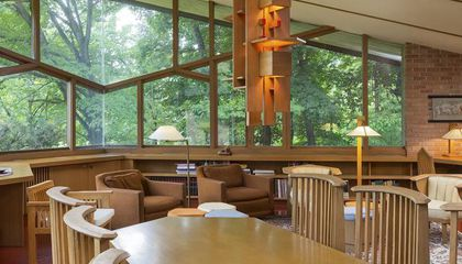 A Minnesota Home Designed by Frank Lloyd Wright Is For Sale, Original Furniture And All