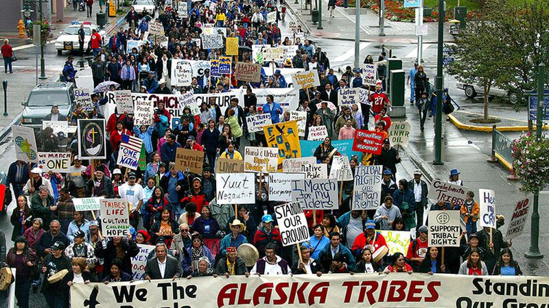 While the U.S. treated Alaska's Native population much better than the Russians, it's still been a rocky relationship, even today.