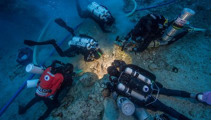 Skeleton Pulled From the Antikythera Shipwreck Could Give Clues to Life Aboard the Vessel