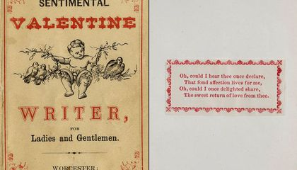 Image: How to make an authentic Civil War valentine
