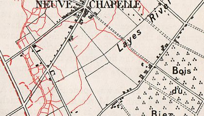 Neuve-Chapelle, France Was the First Town Ever Mapped From Aerial Photos