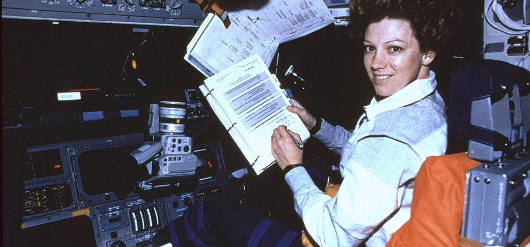 Caption: A Conversation With Astronaut Eileen Collins
