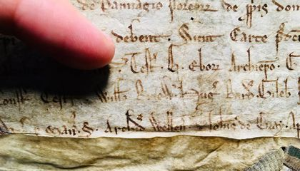 819-Year-Old Royal Charter Issued by King John Found in University Archives