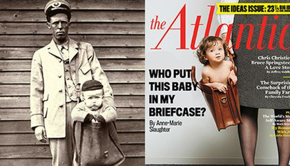 The Atlantic Revisits Sending Babies Through the Mail