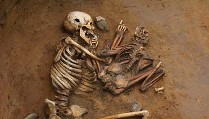Ancient Skeletons Reveal Genetic History of Central Europe