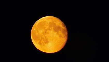 An October Harvest Moon Rises Tonight