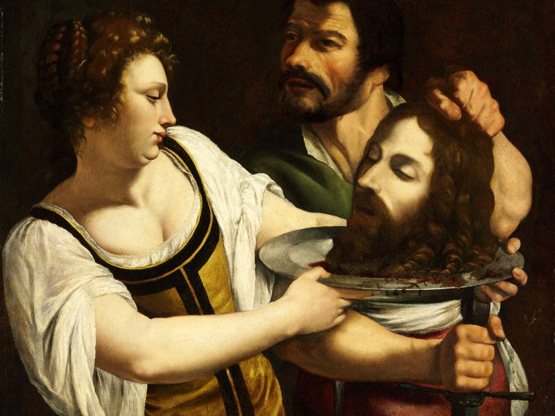 Salome with the Head of Saint John the Baptist, c. 1610-1615, Budapest