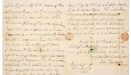 Letter From 'Father of Vaccination' Edward Jenner Sold at Auction