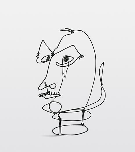 Line Art Limited : Meet another side of alexander calder at the portrait
