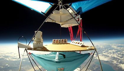To Space (Okay, Near-Space) in a Balloon