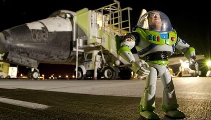 Buzz Lightyear: To Infinity, And the Air and Space Museum