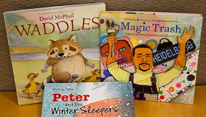 A Trio of Outstanding Picture Books