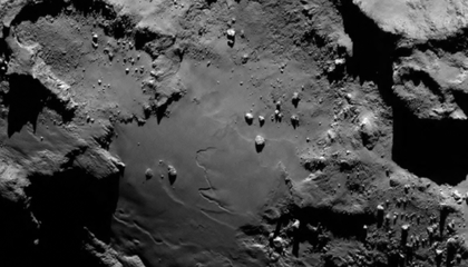 Rosetta Satellite Is the First to Ever Orbit a Comet
