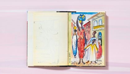 Now You Can View the Travel Sketchbooks of Françoise Gilot, Artist and Inspiration to Picasso