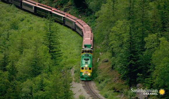 Preview thumbnail for video'A Breathtaking 110-Mile Alaskan Railroad Built in Two Years