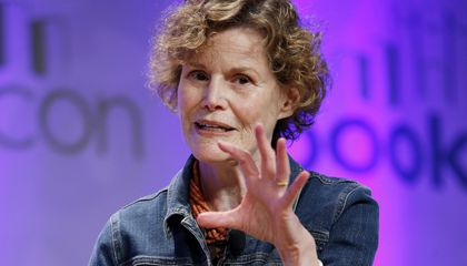 """Image: Judy Blume speaks about her career and what it means to write a """"Banned Book"""""""