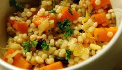 Newly Obsessed With Israeli Couscous