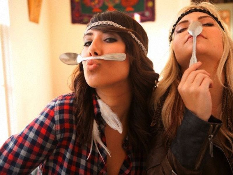 Spoon mustaches