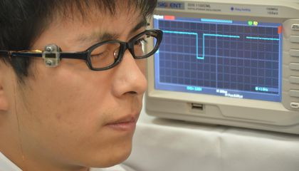 Blink Once For Yes: You Can 'Talk' to This New Computer Interface With Your Eyes