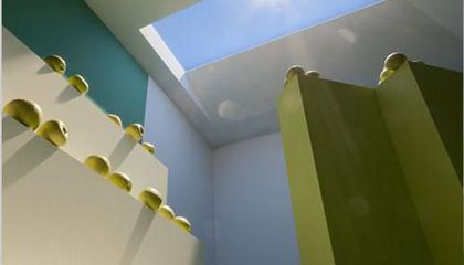 LED Skylights Perfectly Mimic Natural Sunlight