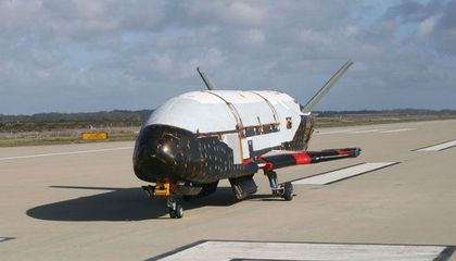 X-37 Still Aloft, May Look to Carry Astronauts