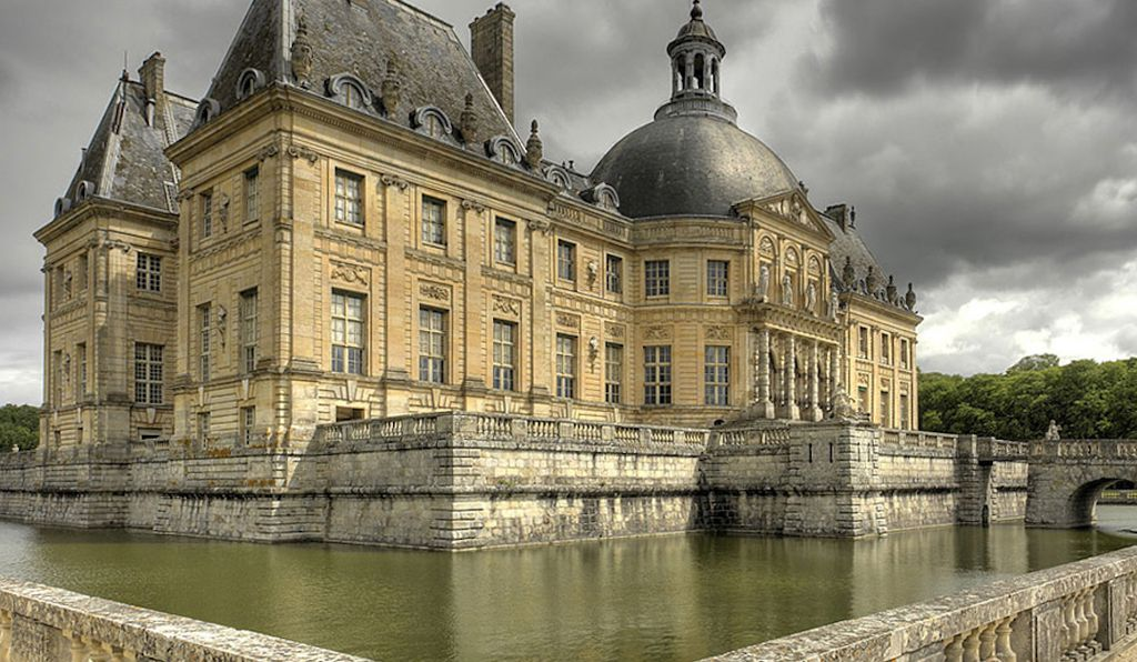 A fresco had been planned for Vaux-le-Vicomte, the inspiration for Versailles, but plans fell through when the king's finance minister was arrested and jailed for treason.