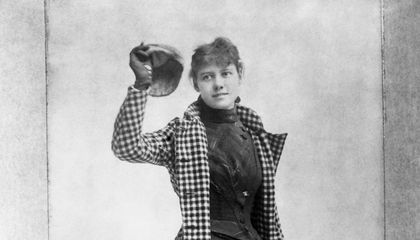 Nellie Bly's Record-Breaking Trip Around the World Was, to Her Surprise, A Race