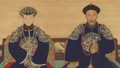 Men of China's Qing Dynasty Chose Trophy Wives to Flaunt Their Wealth