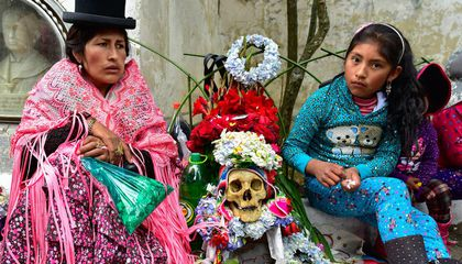 Meet the Celebrity Skulls of Bolivia's Fiesta de las Ñatitas