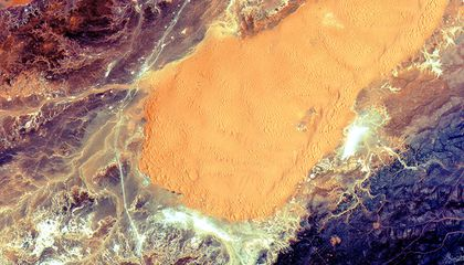 See the Algerian Sahara From Space