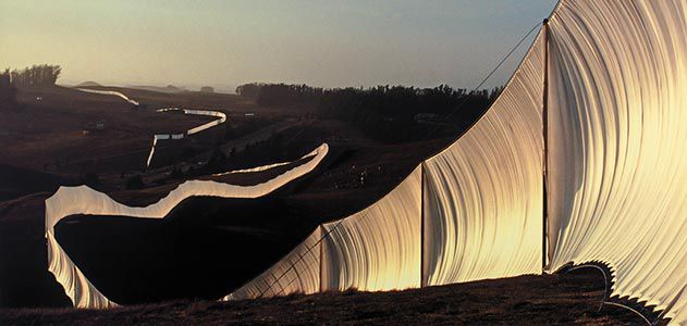New Version Of Christos Running Fence >> Christo S California Dreamin Arts Culture Smithsonian