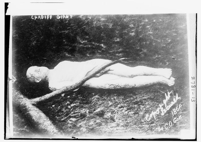 Caption: The Cardiff Giant Was Just a Big Hoax