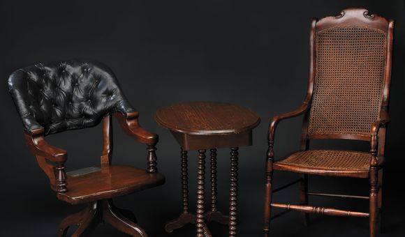 Appomattox Chairs and Table
