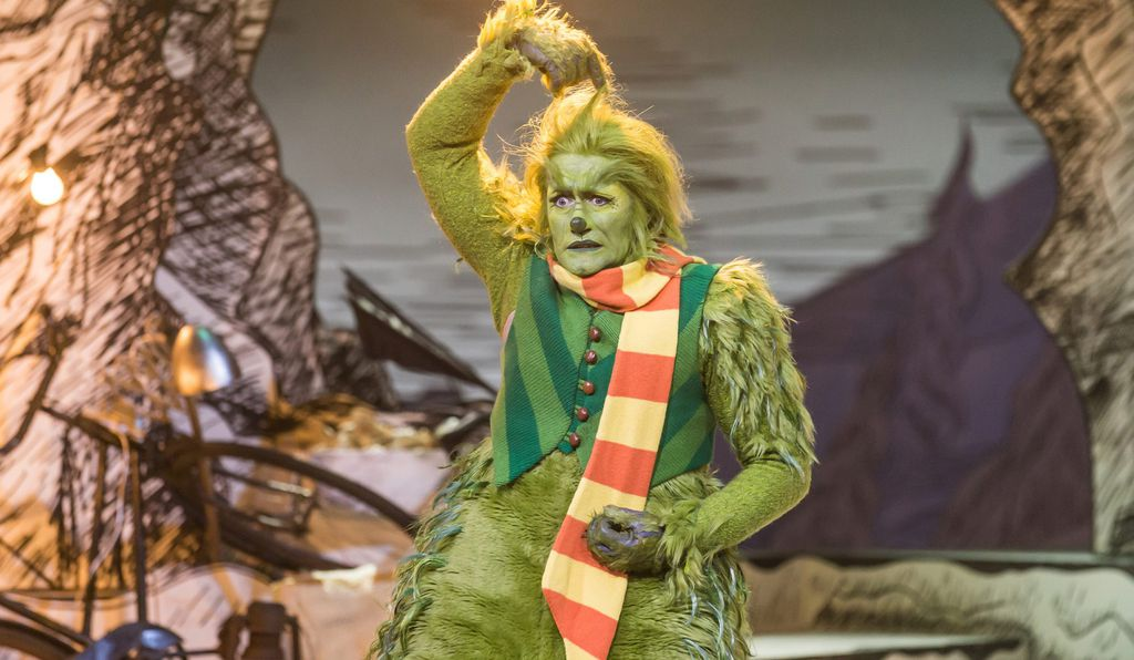 Matthew Morrison plays the Grinch in the new NBC musical