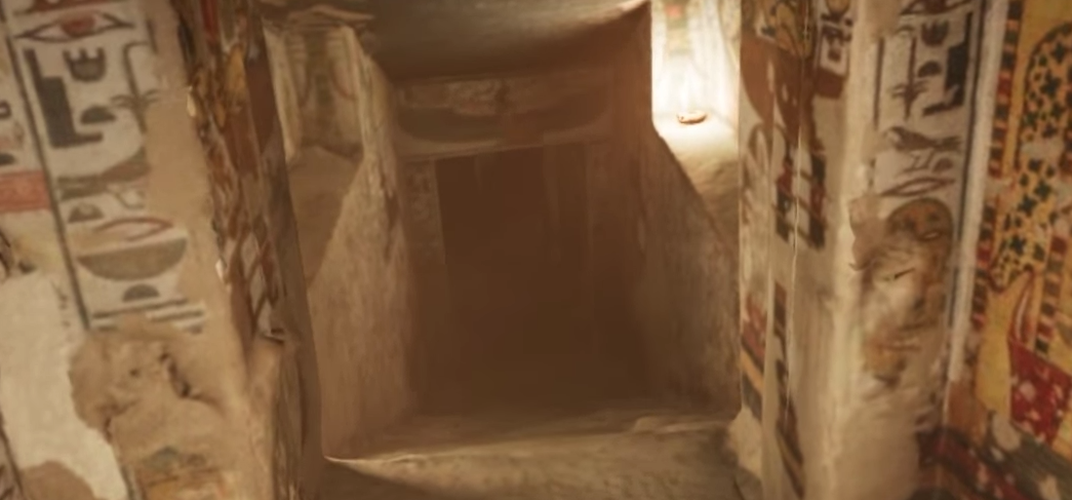 Caption: Take a VR Tour of an Egyptian Queen's Elaborate Tomb