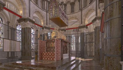 Researchers Digitally Reconstruct Thomas Becket's Razed Canterbury Cathedral Shrine