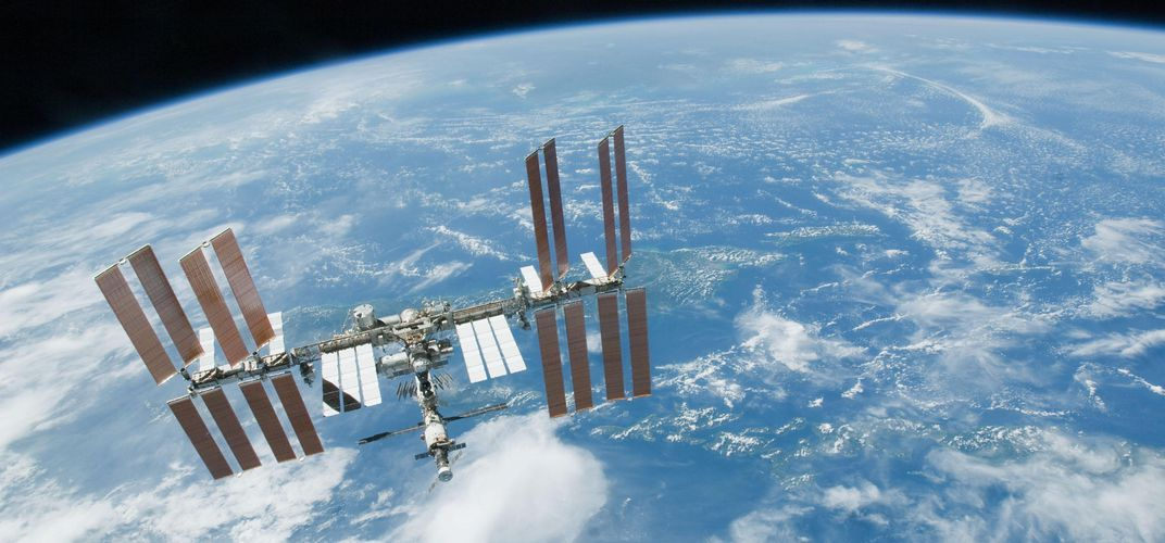 """Caption: """"Space Archaeologists"""" To Examine the ISS"""