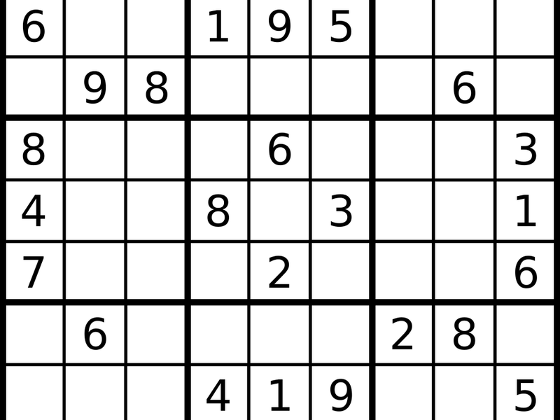 Daily Sudoku | Games & Puzzles | Smithsonian