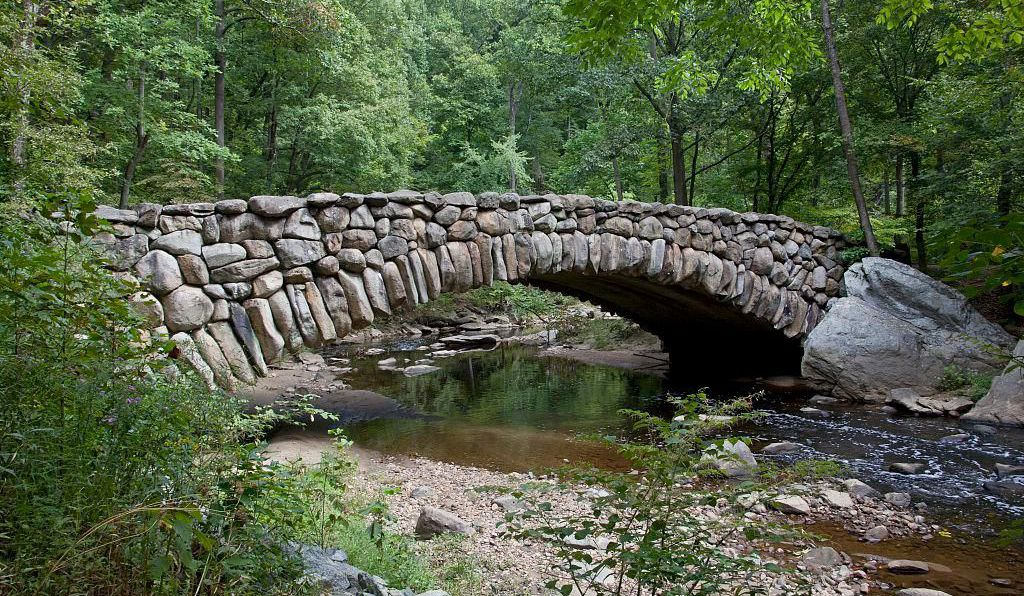 Boulder Bridge, where Roosevelt lost a gold ring.