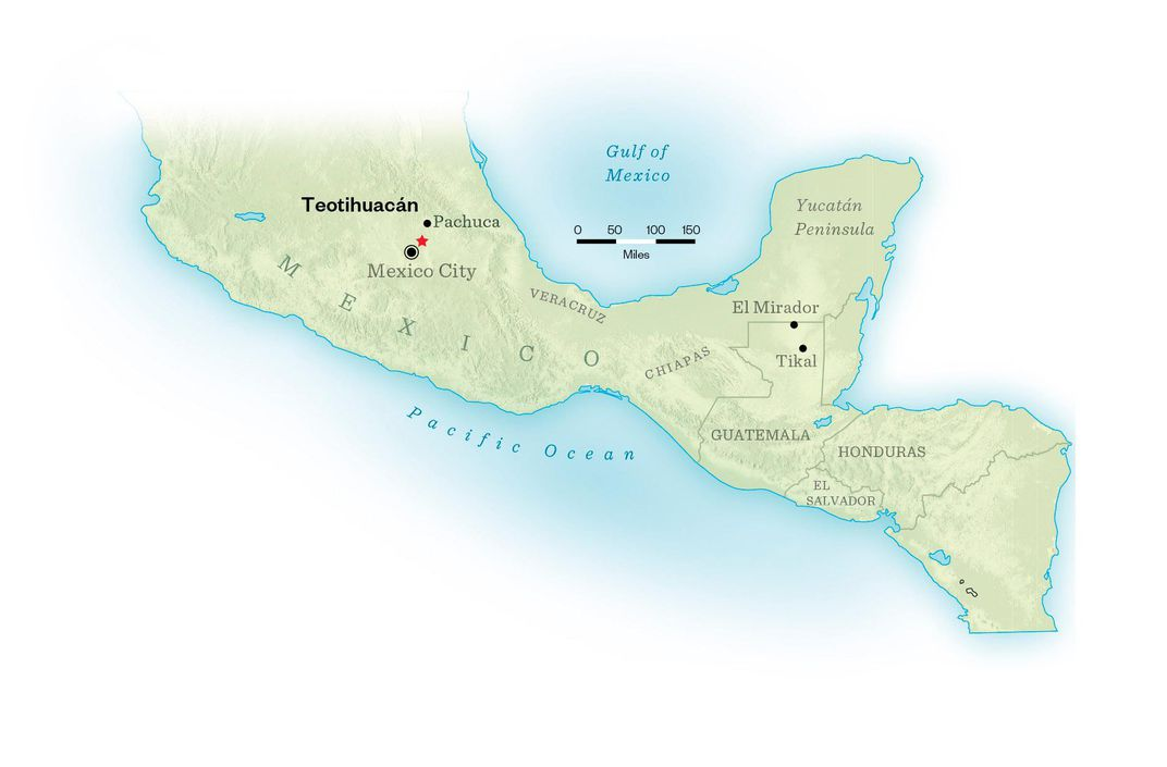 Teotihuacan World Map.A Secret Tunnel Found In Mexico May Finally Solve The Mysteries Of