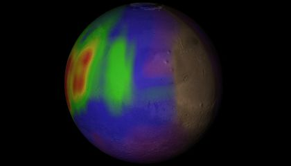 Martian Methane May Come From Comets