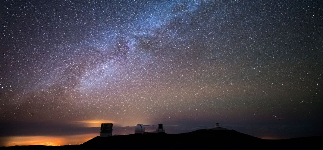The night sky from Mauna Kea