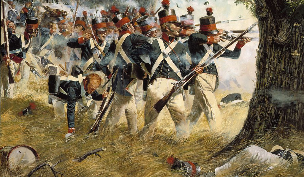 <em>Battle of North Point</em> by Don Troiani