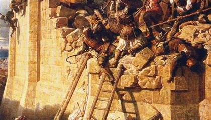 Crusader Shipwreck, Likely From the Siege of Acre, Discovered