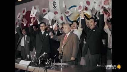 Preview thumbnail for video'The 1964 Olympics Was Pivotal to Postwar Tokyo