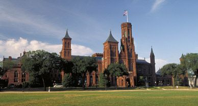 Smithsonian Institution Building,