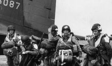 Hitting the Normandy beaches, 64 years ago today.