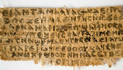 Top Harvard Scholar Discovers 4th-Century Text Fragment That Suggests Jesus Was Married