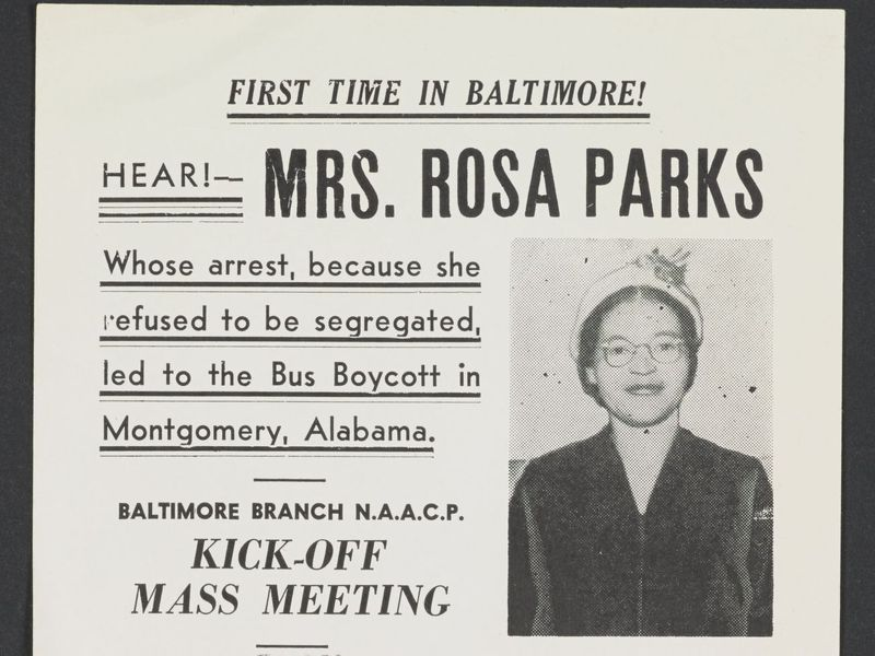 Rosa Parks Papers Are Now Online Smart News Smithsonian